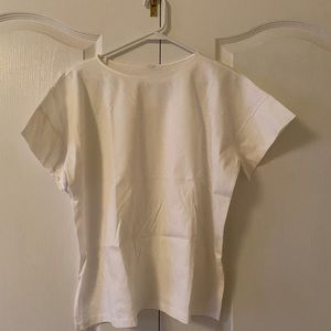 Uniqlo boxy white tee
